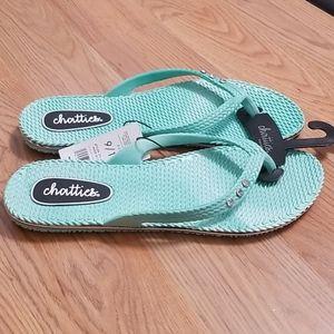 Chatties gem flip flops sandals shoes